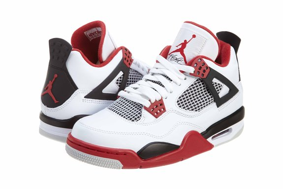 26fafa355 Men s Nike Air Jordan Retro 4 Basketball Shoes