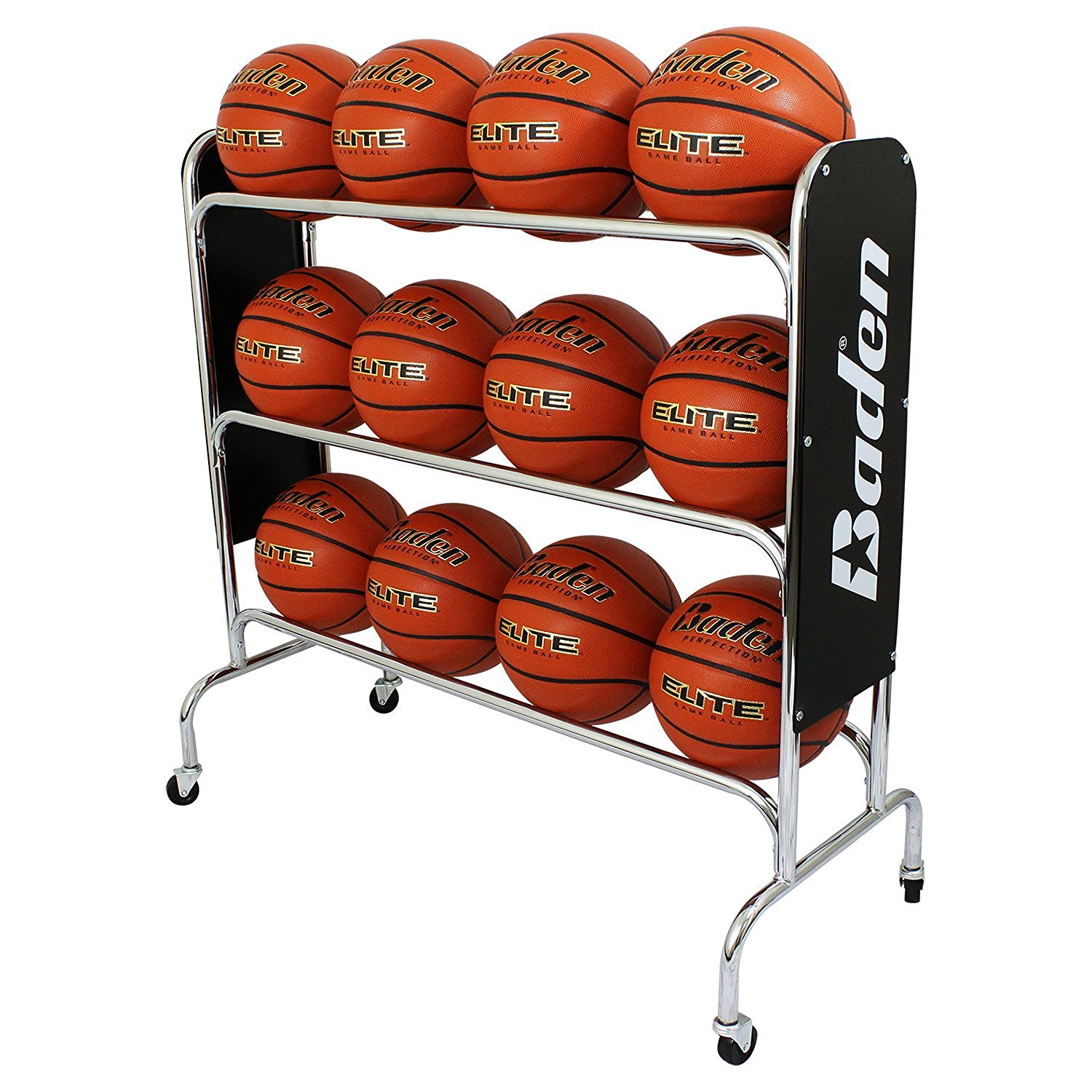 steel basketball rack image