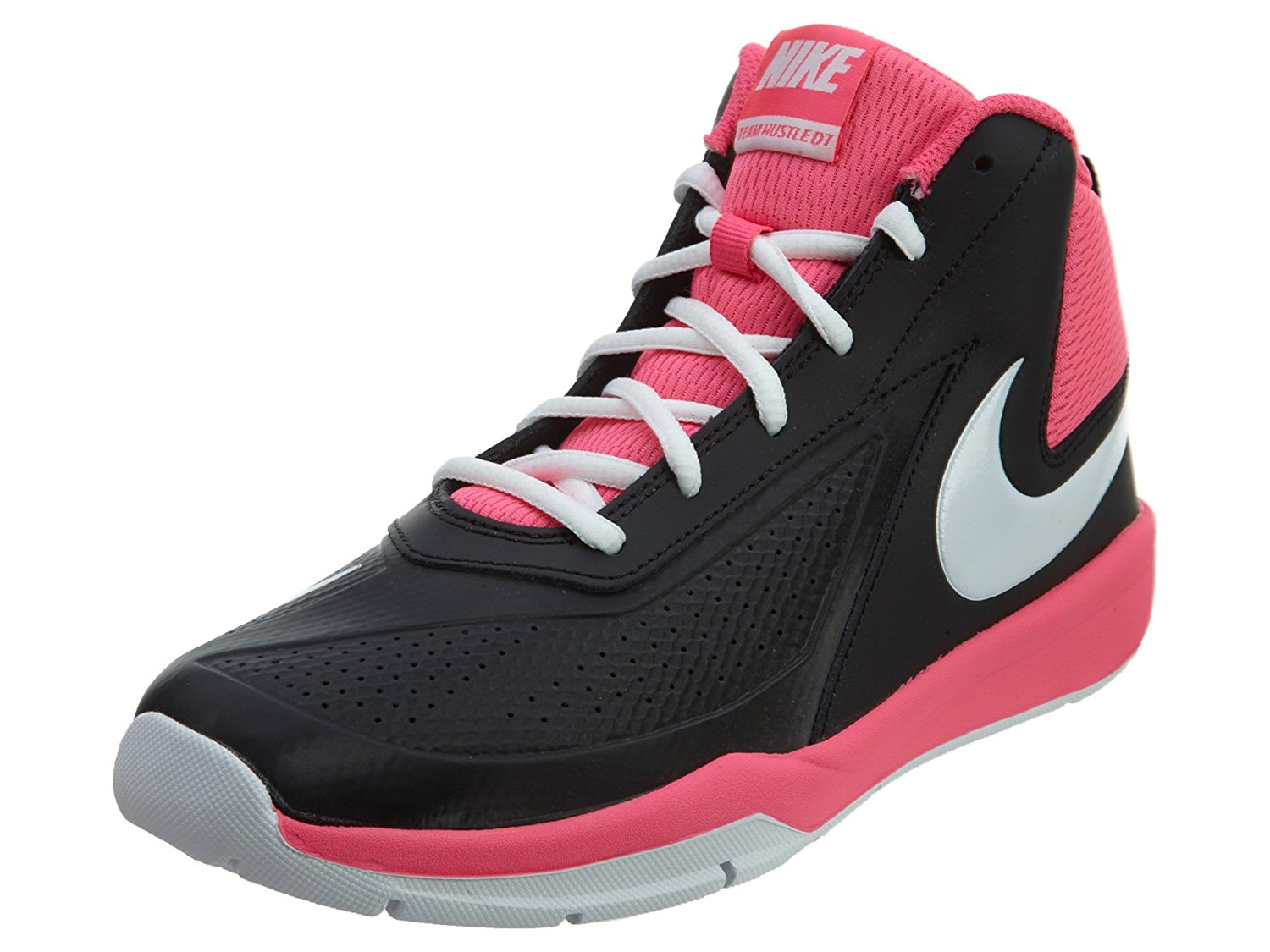 Kids Team Hustle D 7 (GS) Basketball Shoe made by Nike. These brand name basketball  shoes are made with traction and support in mind. 204c887a1