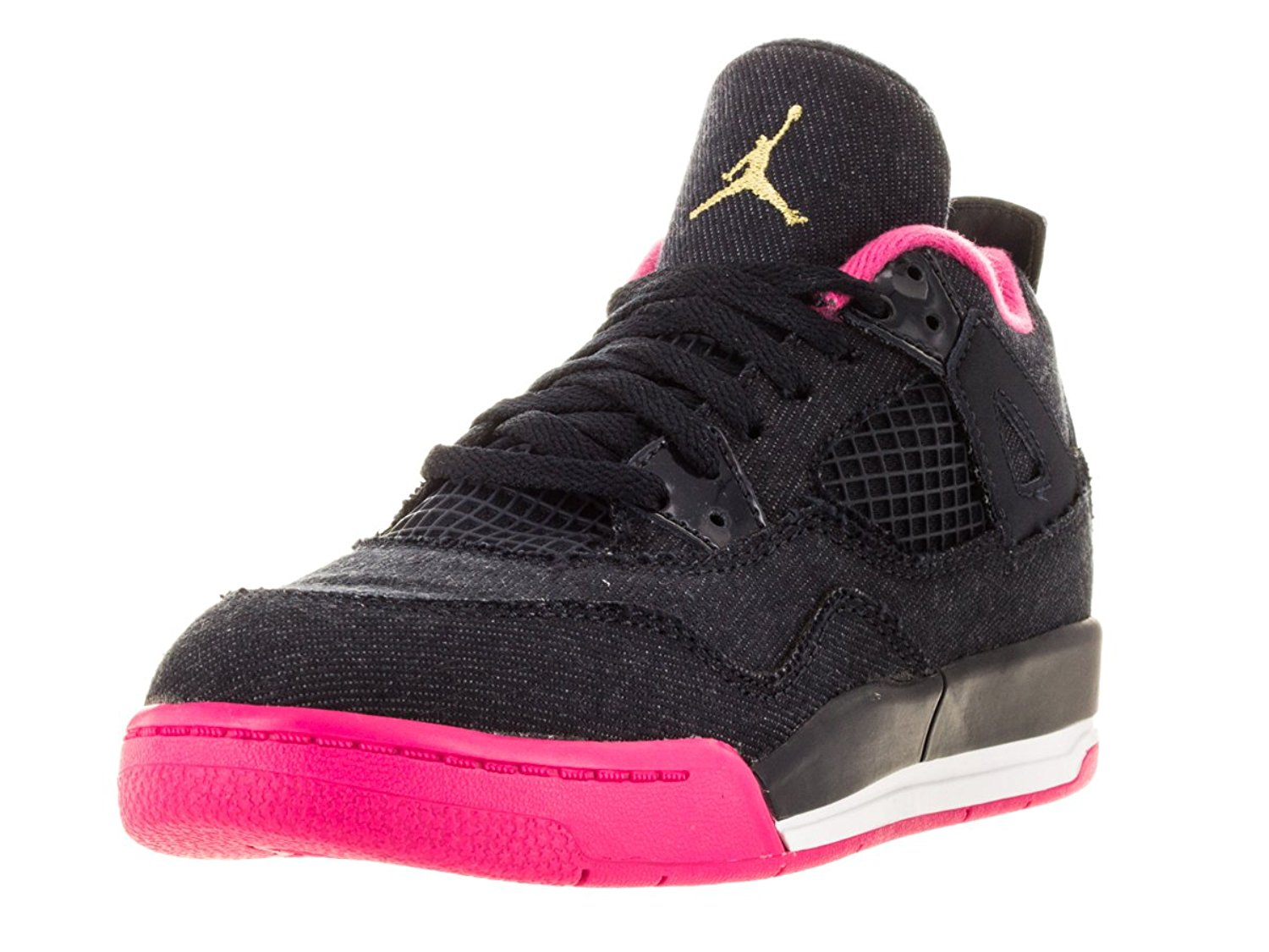 kids jordan 4 retro basketball shoe image