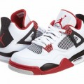 Men's Nike Air Jordan Retro 4 Basketball Shoes