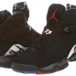 Nike Mens Air Jordan 8 Retro Basketball Shoes Playoffs