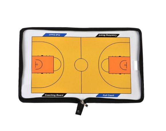 AGPtEK Dry Erase Basketball Coaching Clipboard