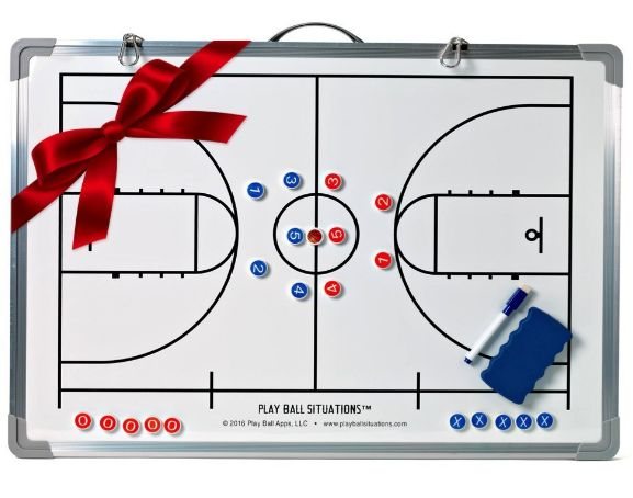 Magnetic Dry Erase Basketball Coaching Board
