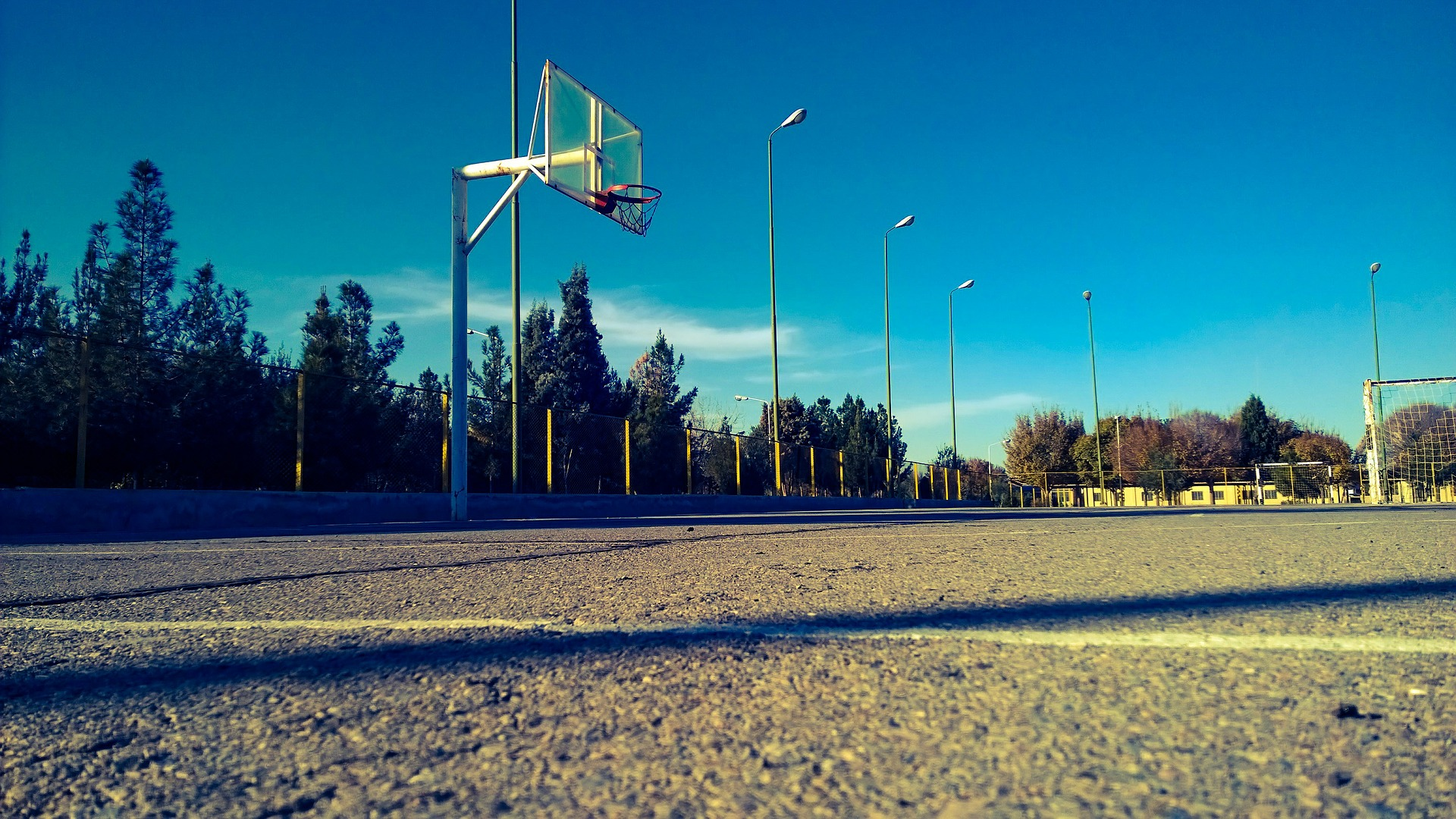 basketball court image