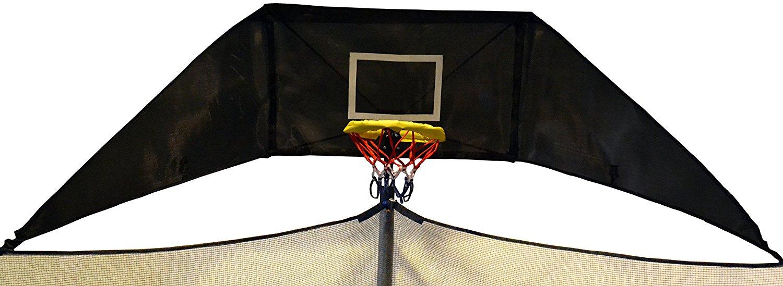 jump n jam trampoline basketball hoop image