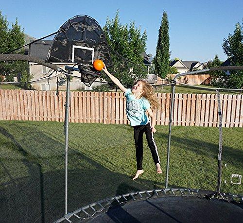 jump slammer trampoline basketball hoop image