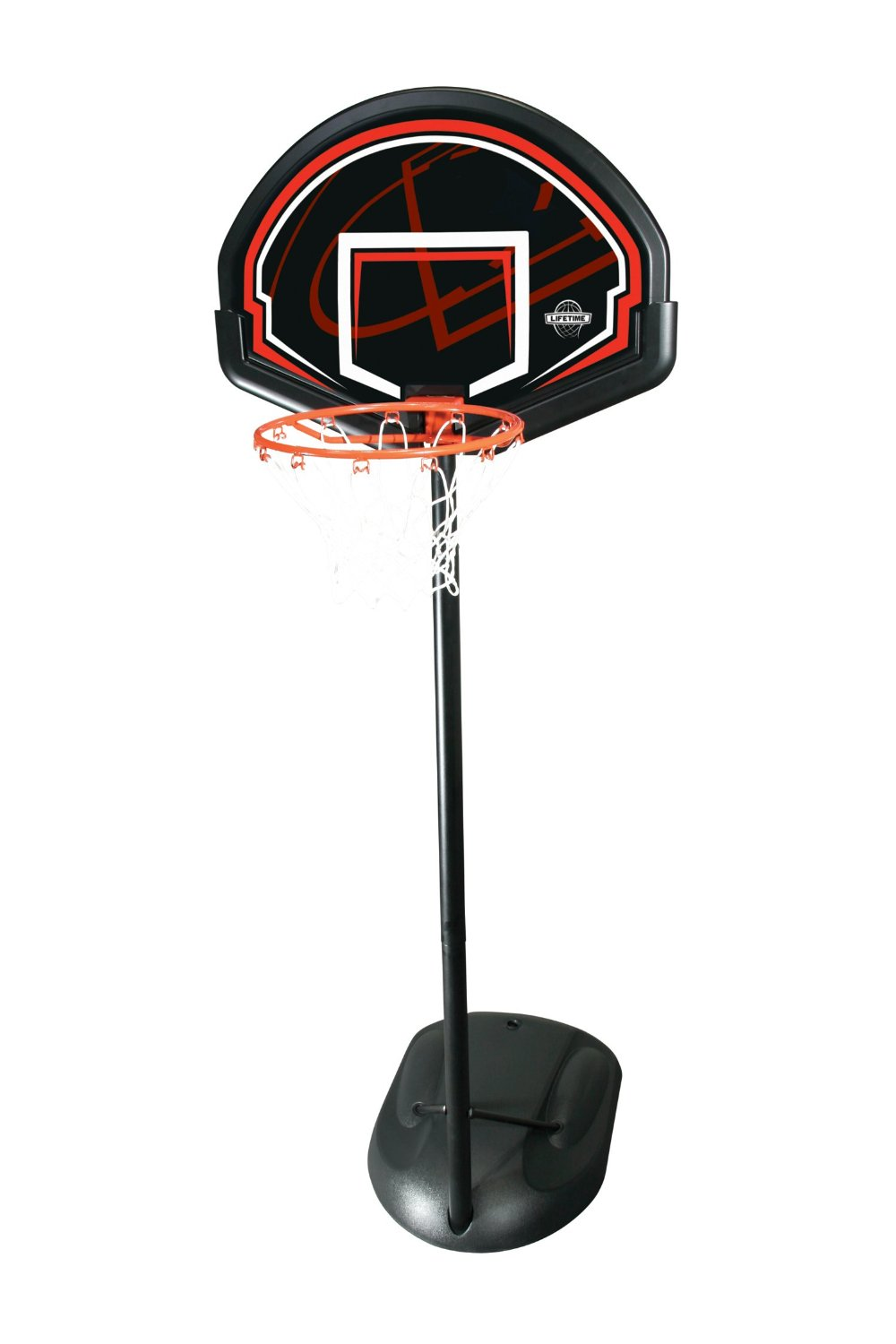 lifetime 90022 youth height adjustable portable basketball system image