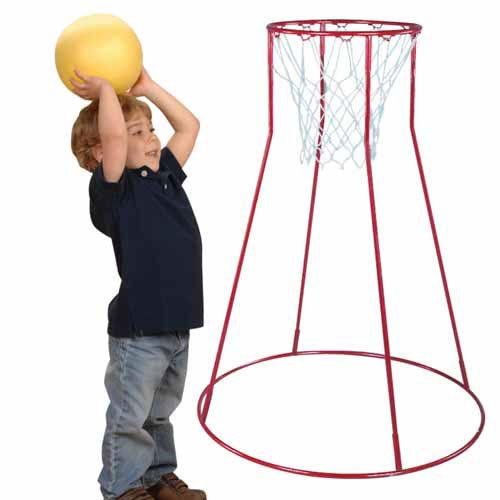 portable basketball hoop for children image