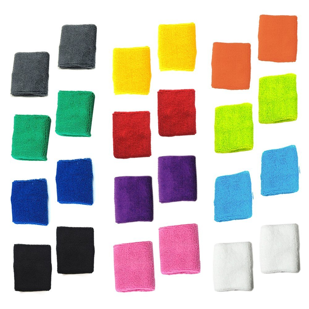 colored cotton wristbands image