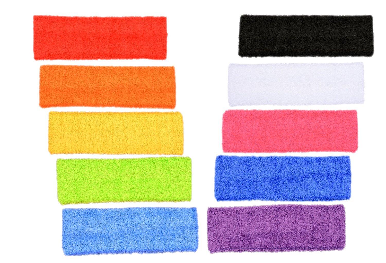 colorful basketball headbands image