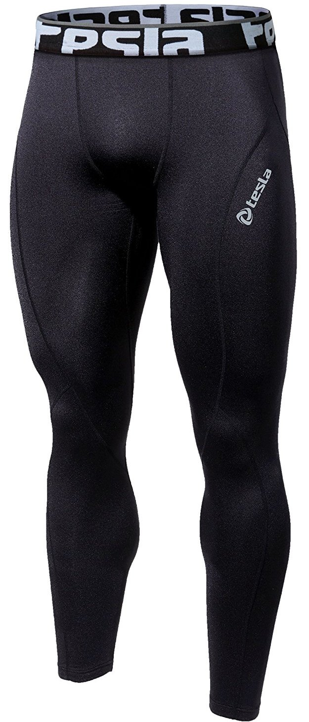 mens cool dry compression pants image