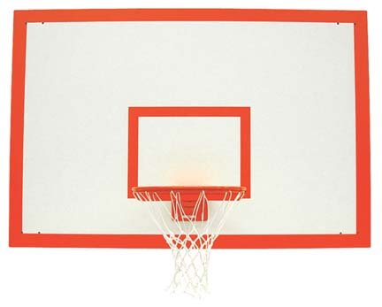 non transparent indoor full size backboards