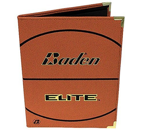 baden pebbled basketball notebook image