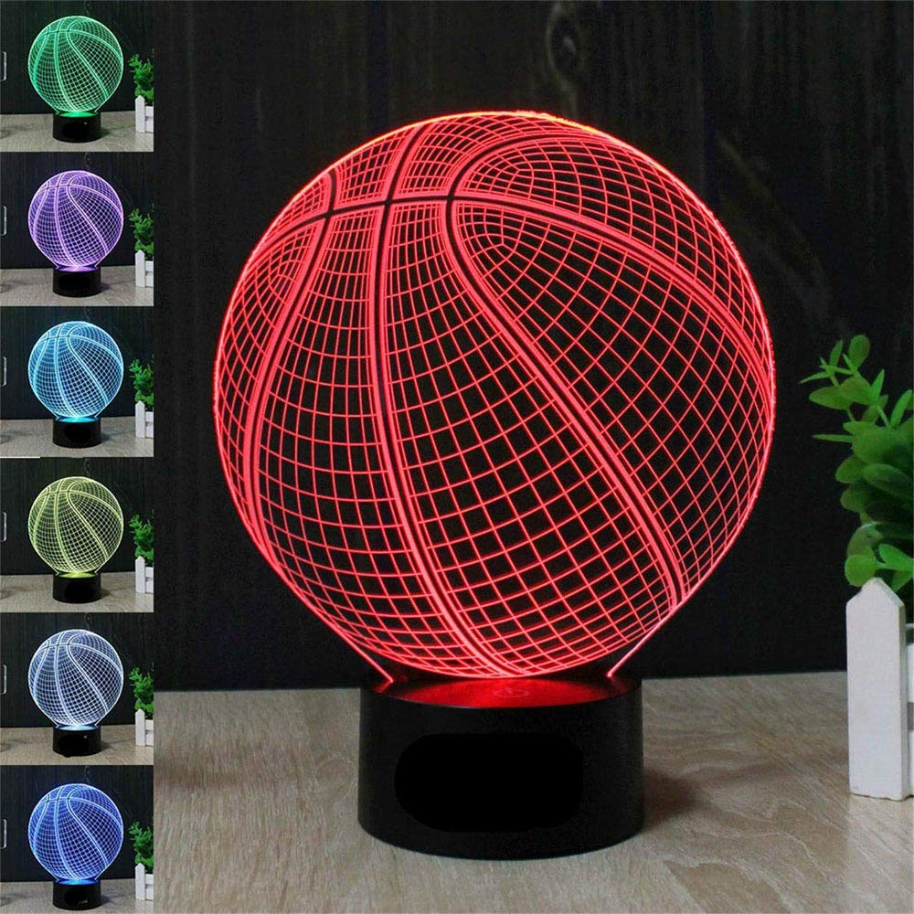 basketball 3d Illumination lamp image
