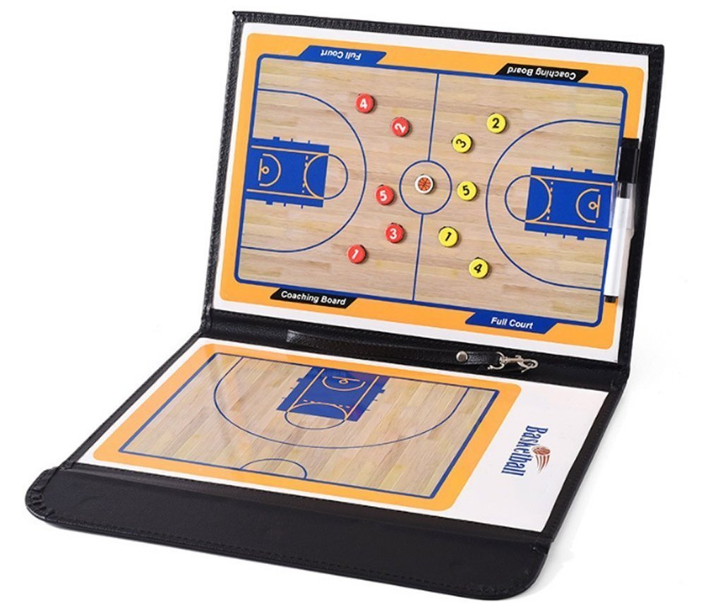 basketball coaching board clipboard image