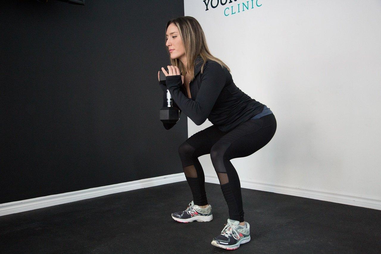 goblet squat image
