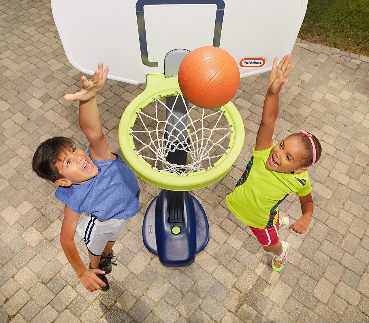 little tikes adjust basketball hoop image