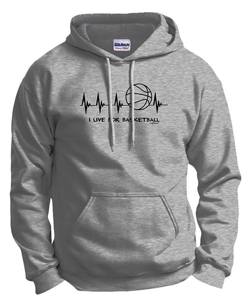 basketball gift live hoodie image