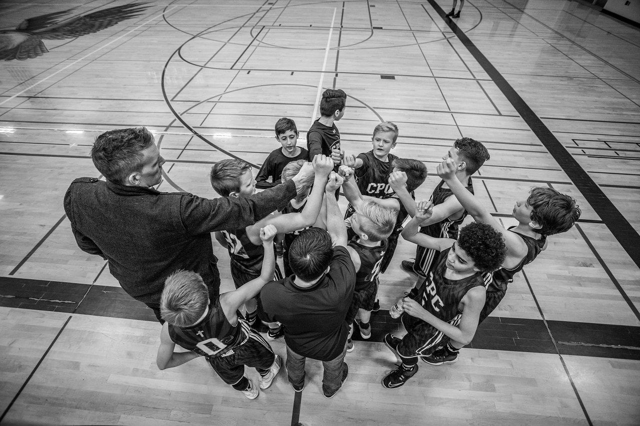 basketball kids image
